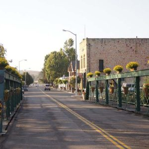 arroyo grande downtown road view