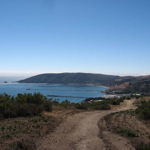 avila beach mountain view